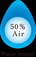 50% Air